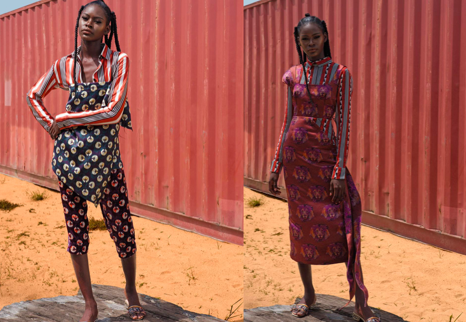 Images from LISA FOLAWIYO's SS18 look book