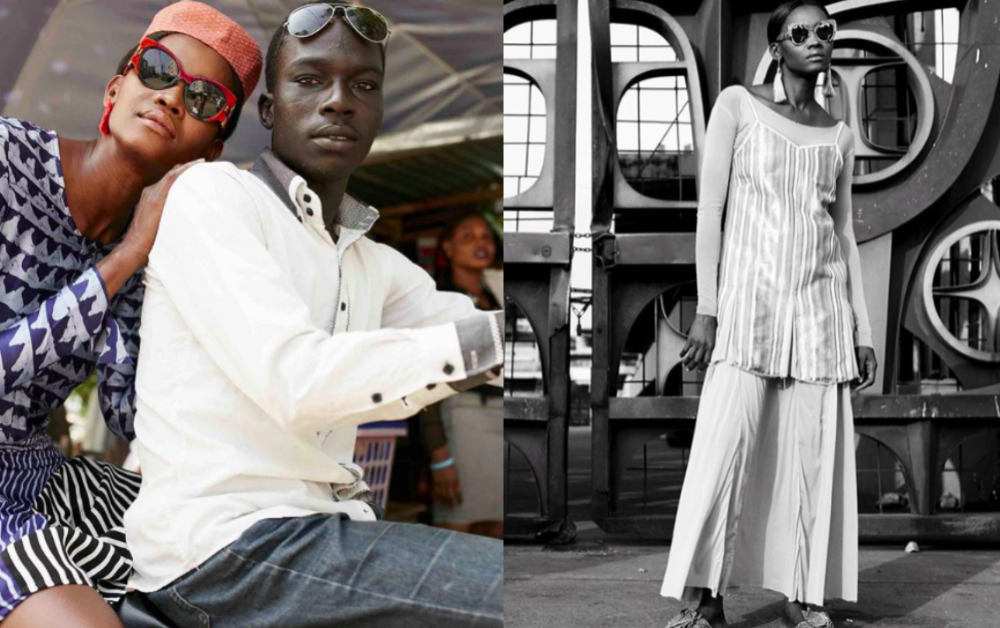 Snippets from Elle South Africa's January 2018 editorial featuring styles straight from the Lagos Fashion and Design catwalk styled by Dimeji Alara in Lagos