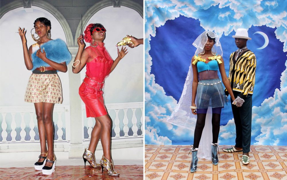 Photo courtesy of Ruth Ossai | Daniel Obasi for Miu Miu in 'Nollywood' fashion editorial