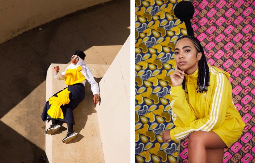 Trevor Stuurman X Simon and Mary collection | Adidas Campaign by Trevor Stuurman