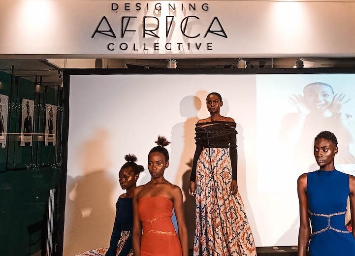 Scene from young designers Kenya collection launch facilitated by Designing Africa collective | (ph:soyoulikefashion.com)