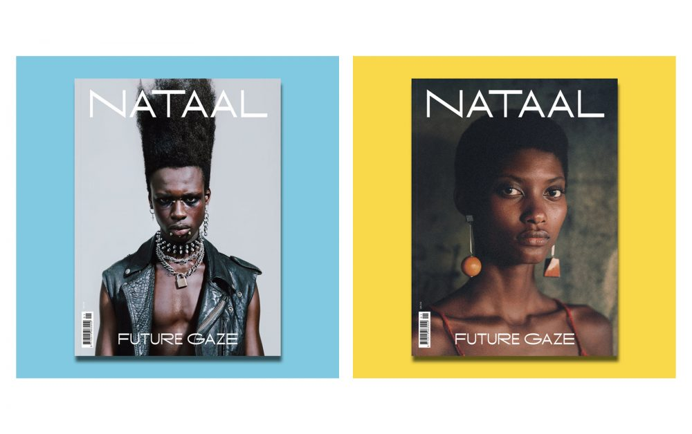 Photo courtesy of Nataal | Nataal's debut print edition featuring a double cover
