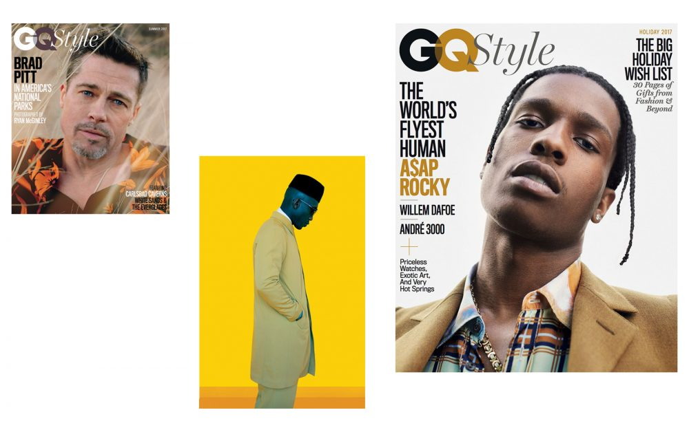 A selection of Dawodu's styling work | Photo courtesy of US GQ Style